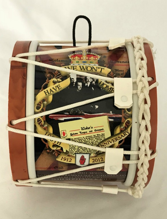 Ulster Covenant Souvenir Mini Lambeg Drum